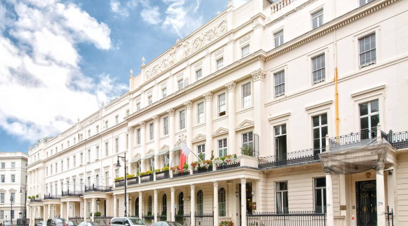 Listed mansion in Belgravia