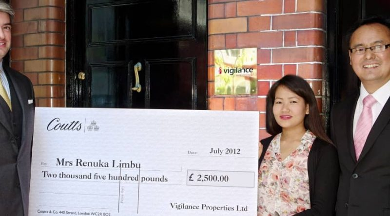 Company Charity For Worker's Widow
