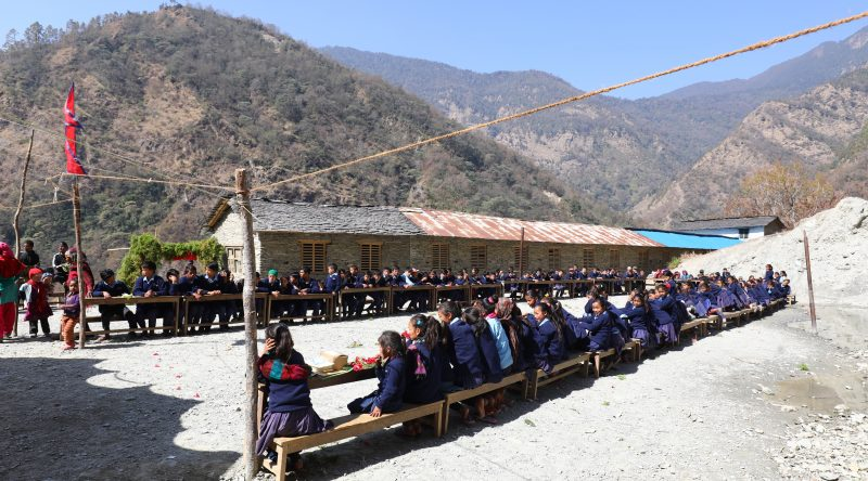 Siddhartha School takes shape
